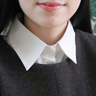 MIOW - Basic Shirt Decorative Collar