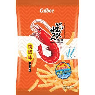 Calbee - Prawn Crackers Barbecue Flavoured 40g