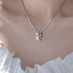 Honne - 925 Sterling Silver Lion Pendant Necklace