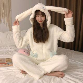 Fabricino - Ear Hood Pajama Set