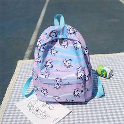 OUCHA - Unicorn Print Nylon Backpack