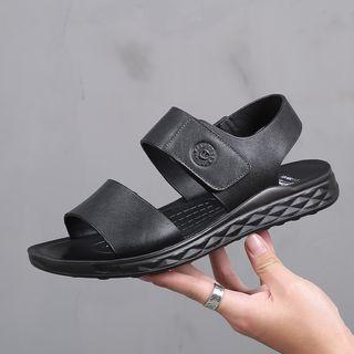 Kayne H - Adhesive Strap Sandals
