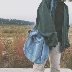 Sosara - Two-Way Denim Tote Bag