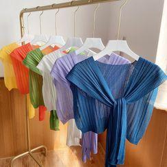 Passiflora - 罗纹针织披肩