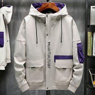 Ferdan - Hooded Technical Jacket