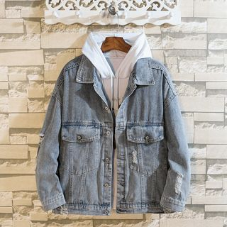 Ferdan - Ripped Denim Jacket