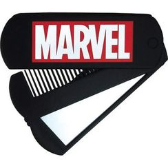T'S Factory - MARVEL Comb with Mirror (Black)