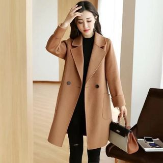 Sienne - Double Breasted Wool Coat