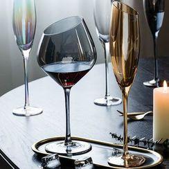 Modern Wife - Angled Wine Glass