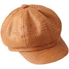 HARPY - 千鳥格派報童帽