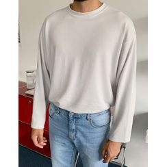GERIO - Round-Neck Boxy T-Shirt