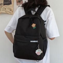 CHIN CHIN - Embroidered Lettering Backpack