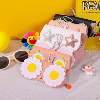 Fun House - 贴布绣太阳眼镜盒