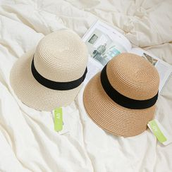JUSTONE(ジャストワン) - UV-Care Contrast-Trim Sun Hat