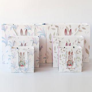 Orange Affair - 小兔印花礼物纸袋