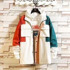 Chopit - Color Block Zip Jacket