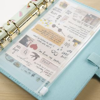 Wonbon - A5 / A6 Loose-Leaf Notebook Pocket Inset
