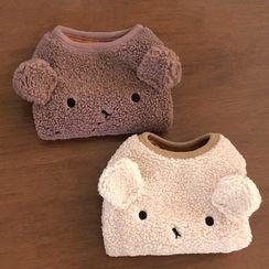 Bixin - 動物耳朵小羊毛寵物上衣