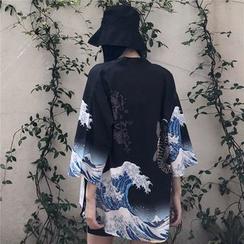 MELLO - 印花日式外套