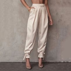 MOONGATE - High-Waist Harem Pants