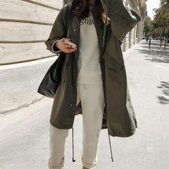 Merlene - Button Trench Coat