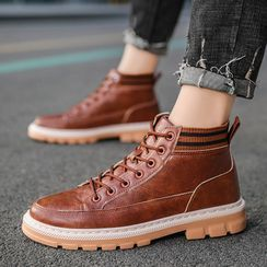 BELLOCK - Lace-Up Short Boots