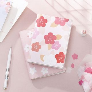 Ms Zaa - Sakura Print A6 Notebook