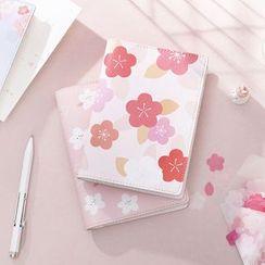 Ms Zaa - Sakura Print A6 Notebook