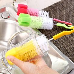 Showroom - Kitchen Cup Cleaning Brush with Sponge