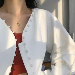 Krishya - 925纯银贝壳项链