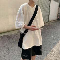 VEAZ - Short-Sleeve Plain Loose-Fit T-Shirt