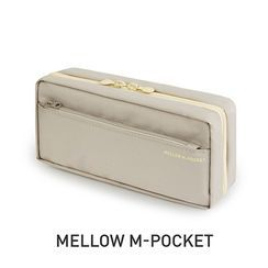 BABOSARANG - 'Mellow M-Pocket' Zipped Pencil Case