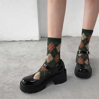 Putcho - Platform Mary Jane Shoes