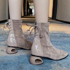 Weiya - 低跟短靴