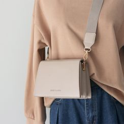 Melomi - Faux Leather Crossbody Bag