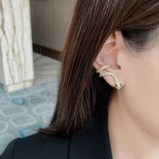Lighthouse - Rhinestone Snake Cuff Earring