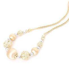 Keleo - 18K White & Yellow Gold Necklace