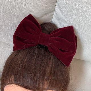 Pouffle - 蝴蝶結髪夾