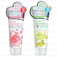 J-Pallet - manis White Hand & Body Cream SPF 31 PA+++ 80g - 2 Types
