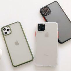 Primitivo - Transparent Phone Case - iPhone 11 Pro Max / 11 Pro / 11 / XS Max / XS / XR / X / 8 / 8 Plus / 7 / 7 Plus / 6s / 6s Plus