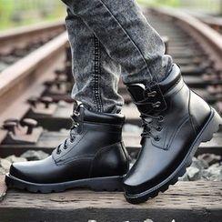 Snowpard - Fleece-Lined Short Boots