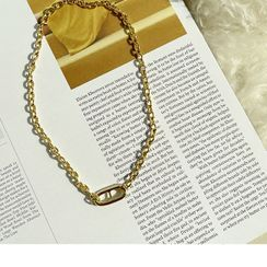 NANING9 - Oblong Chain Necklace