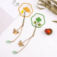 Anffleur - Embroidery Bookmark DIY Kit
