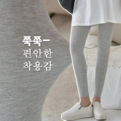 Seoul Fashion - Textured Leggings in 9 colors