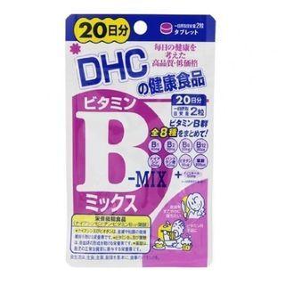 DHC Health & Supplement - Comprimés de mix vitamine B – 20 jours