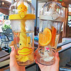 Sensam - 动物印花塑胶水瓶