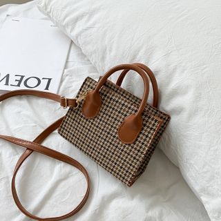 Shimme - Houndstooth Crossbody Bag