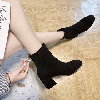 BARCA - Block-Heel Ankle Boots