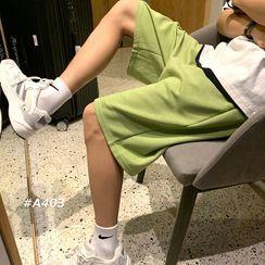 MIKAEL - Plain Shorts