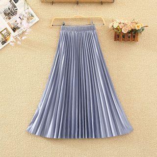 Honoree - Midi A-Line Skirt